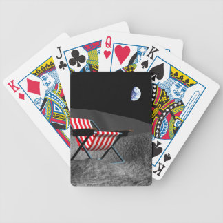 Chair on the Moon Bicycle Playing Cards
