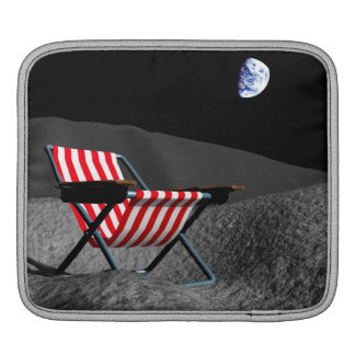 Chair on the Moon iPad Sleeve