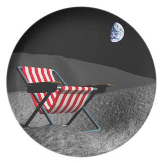 Chair on the Moon Plate