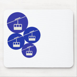 chairlift mouse pad