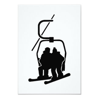 Chairlift snowboarder custom announcements