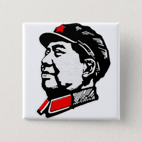 Chairman Mao Button
