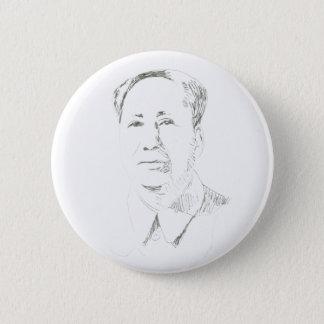 Chairman Mao China 6 Cm Round Badge