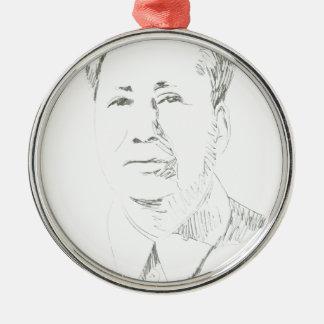 Chairman Mao China Christmas Ornament