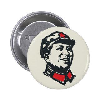 Chairman Mao Portrait 6 Cm Round Badge