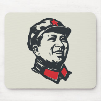 Chairman Mao Portrait Mouse Pad