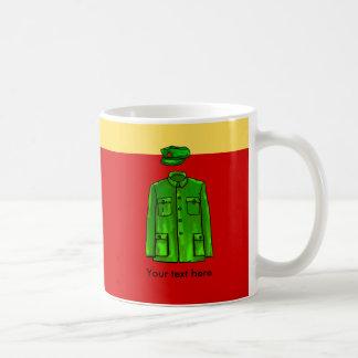 Chairman Mao Zhongshan suit Coffee Mug