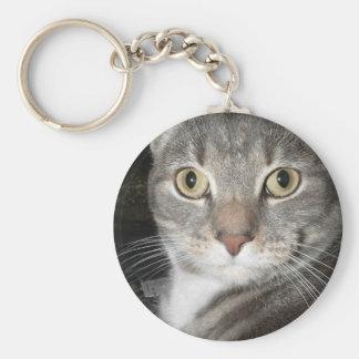 Chairman Meow Basic Round Button Key Ring