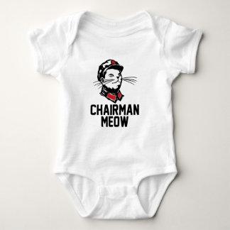 Chairman Meow (Mao) Design Baby Bodysuit