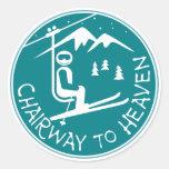 Chairway to Heaven Sticker