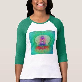 chakra abstract art painting energy chi aura prana tee shirts