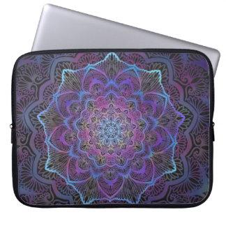 Chakra Blossom, boho, new age, spiritual Laptop Sleeve