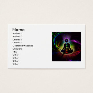 Chakra Business Cards