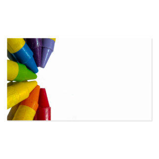 chakra crayons pack of standard business cards