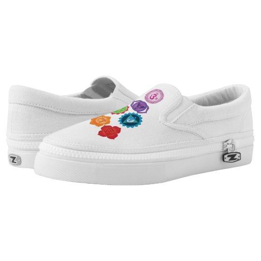 Chakra Custom Zipz Slip On Shoes