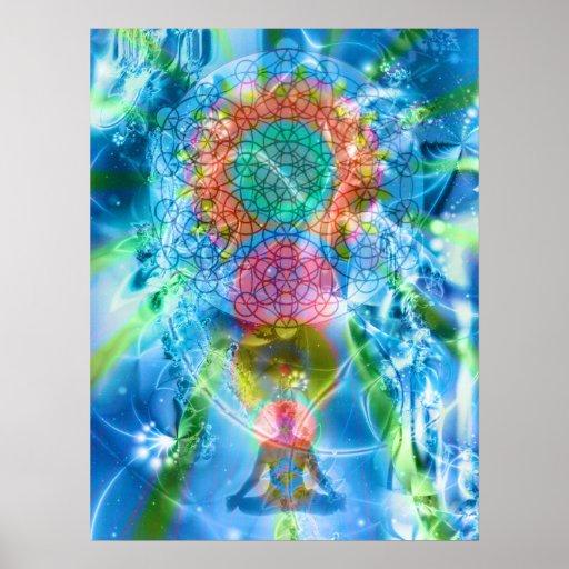 chakra dreaming poster