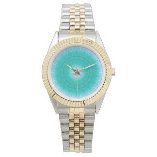 Chakra Energy 2 (green & blue) Watch