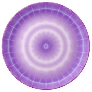 Chakra Energy (lavender) Plate