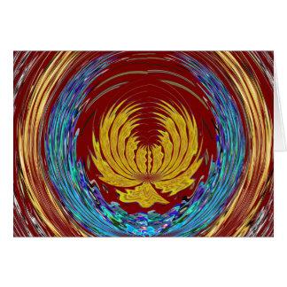 CHAKRA Giveaway Return+Gifts Heart,Green,Peace $$$ Greeting Card