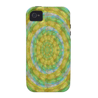 CHAKRA Green Wheel Crystal Beads Stone FUN GIFTS iPhone 4/4S Covers