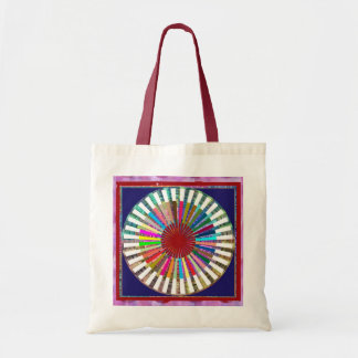 CHAKRA Light Source Meditation Budget Tote Bag