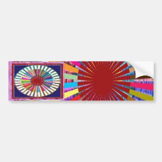 CHAKRA Light Source Meditation Bumper Sticker