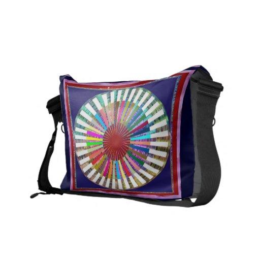 CHAKRA Light Source Meditation Messenger Bag