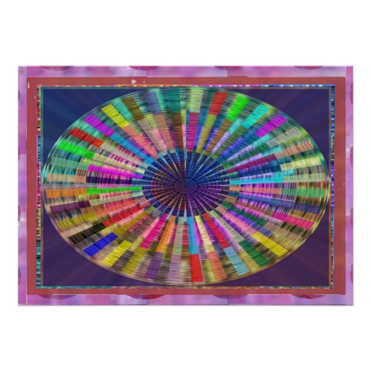 CHAKRA Light Source Meditation Poster