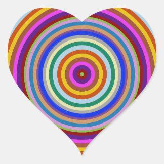Chakra Meditation Focus Tool Heart Sticker