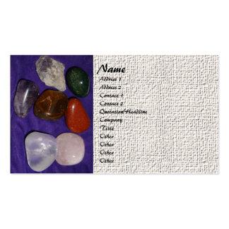 Chakra Stones Business Card Templates