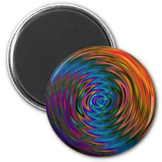 chakra swirl gift idea,original art magnet