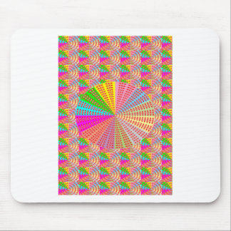 Chakra UNIQUE Round Circle  Artist NAVIN JOSHI Mousepads