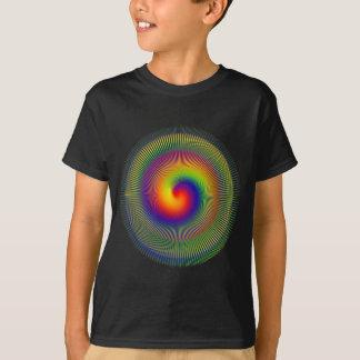 chakra Warp fractal vert apperal T-Shirt