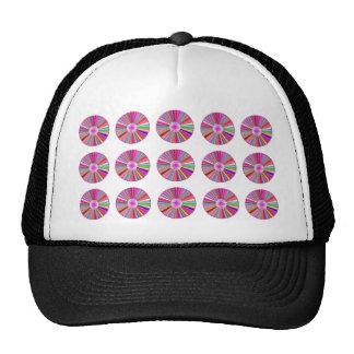 CHAKRA Wheel Round Colorful Healing Goodluck Decor Hats