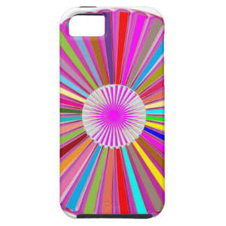 CHAKRA Wheel Round Colorful Healing Goodluck Decor iPhone 5/5S Covers