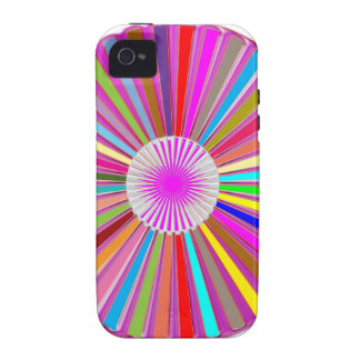 CHAKRA Wheel Round Colorful Healing Goodluck Decor Case-Mate iPhone 4 Cases
