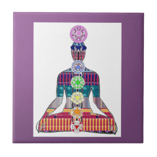 CHAKRA Yoga Meditation Spiritual Healing NVN688 FU Ceramic Tiles