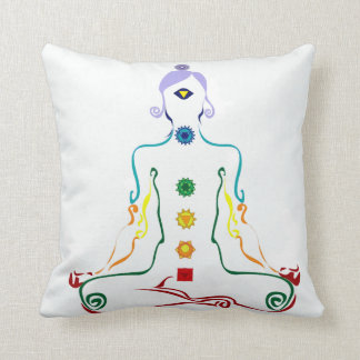 Chakra yogini cushion