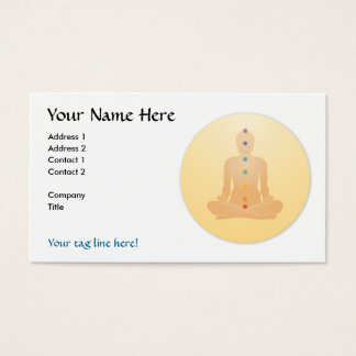 Chakras Business Cards