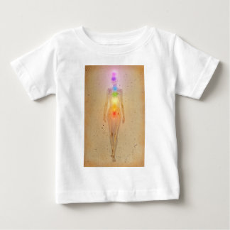 Chakras over a human body baby T-Shirt