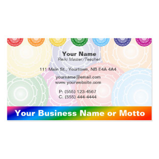 Chakras Pack Of Standard Business Cards