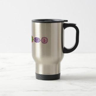 Chakras Stainless Steel Travel/Commuter Mug