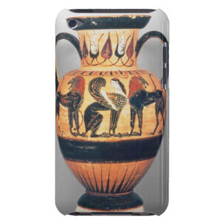 Chalcidian black figure amphora depicting a sphinx barely there iPod case