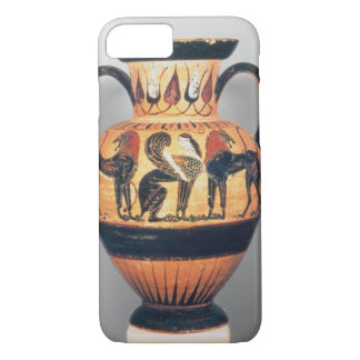 Chalcidian black figure amphora depicting a sphinx iPhone 8/7 case