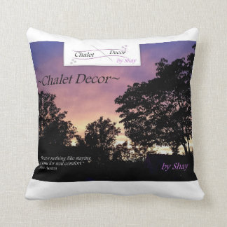 ~Chalet Decor~ by Shay - Pillow