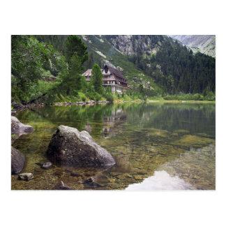 Chalet Next To Tarn Postcard