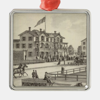 Chalfonte, Cape May City, New Jersey Christmas Ornament