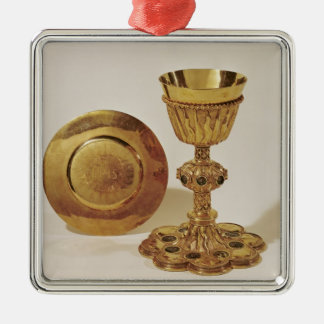 Chalice and paten christmas ornament