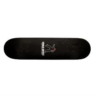 Chalk Artist Skate Board