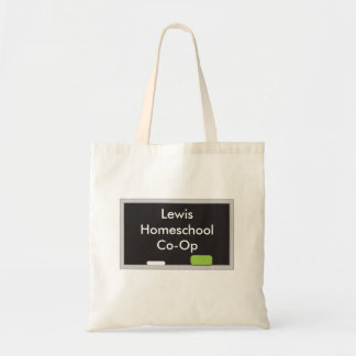 Chalk board Homeschool Co Op Tote Bag
